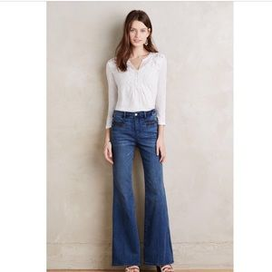 ▪️Anthropologie▪️Pilco the Letterpress Flare jeans